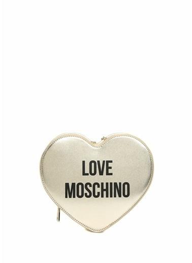 Love Moschino Messenger / Askılı Çanta Altın